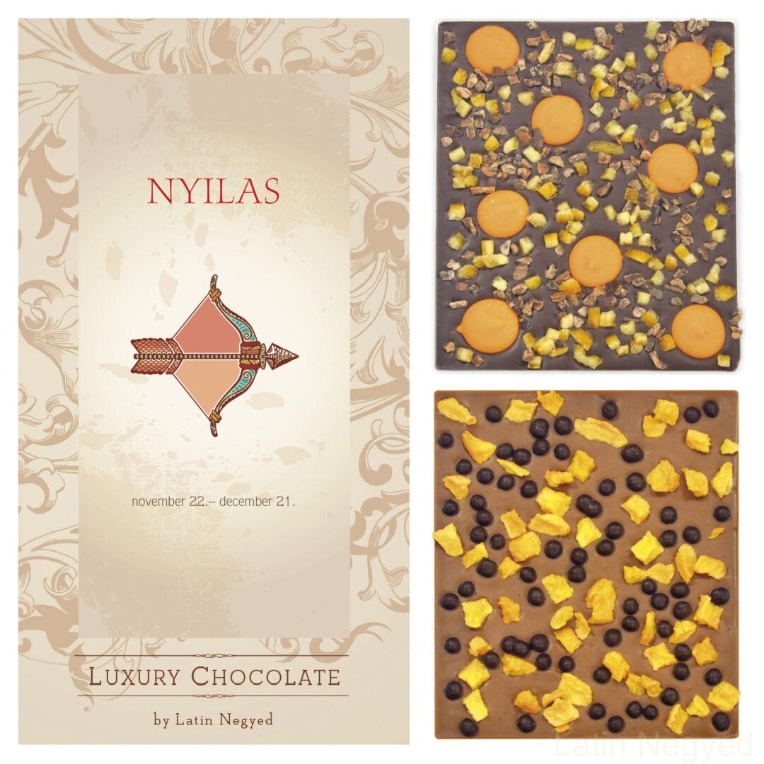 LUXURY CHOCOLATE NYILAS HOROSZKÓP 130G