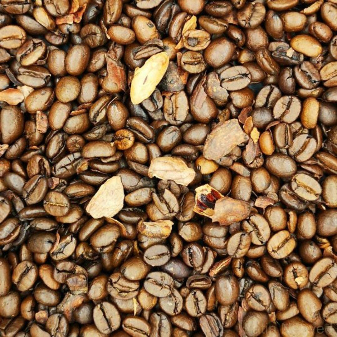 Azték kávé kakaódarabokkal