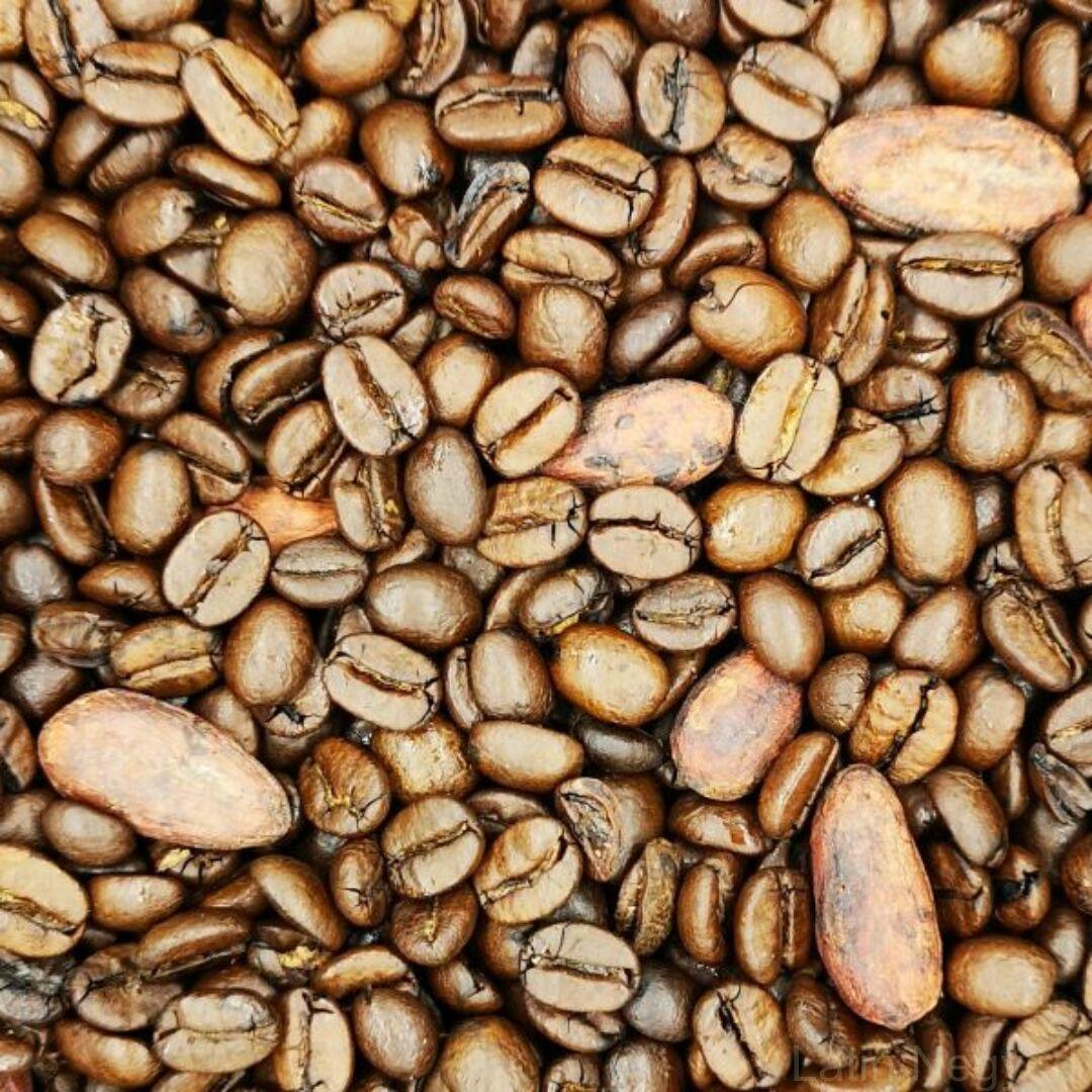 Bécsi kávé pörkölt kakaóbabbal