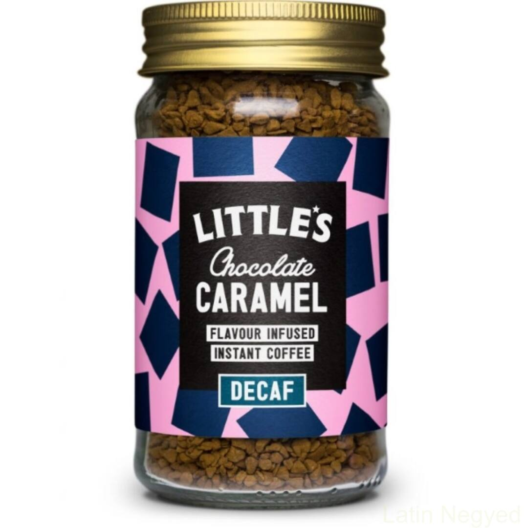 Little's instant kávé koffeinmentes csokoládé-karamell