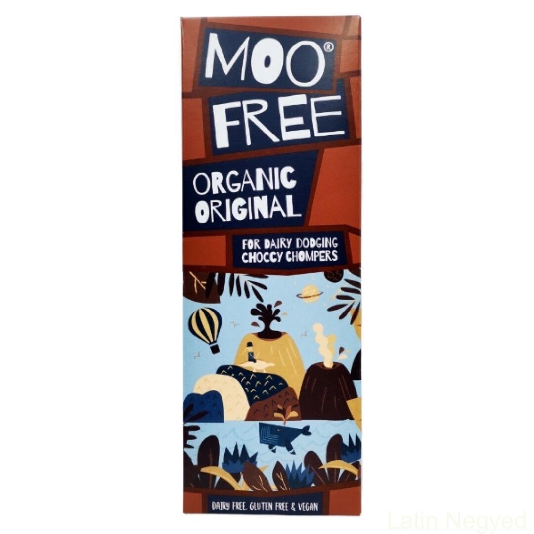 Moofree tejcsokoládé jellegű tábla tejmentes