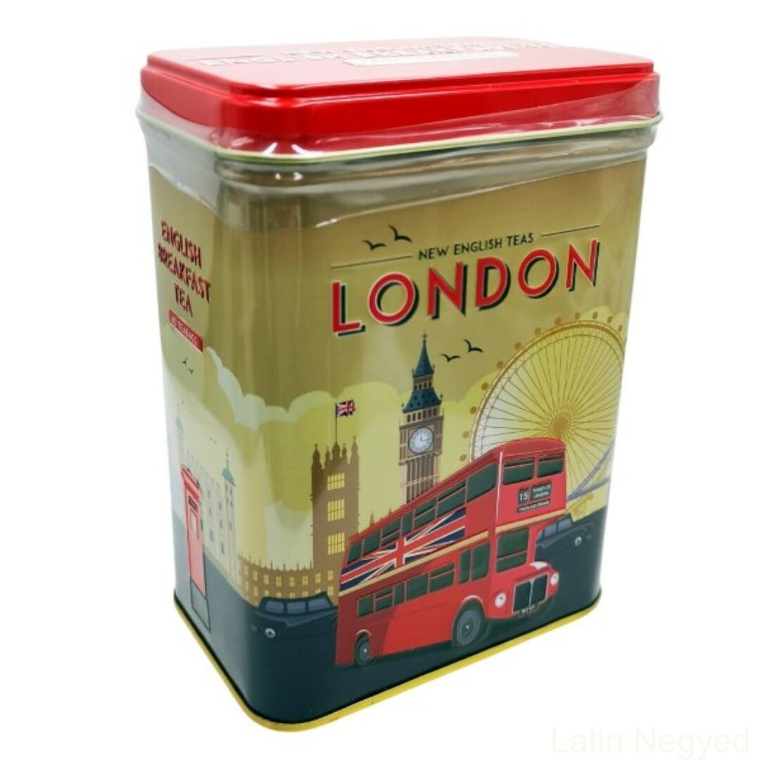 ENGLISH BREAKFAST FEKETE TEA 80G  'retro London'