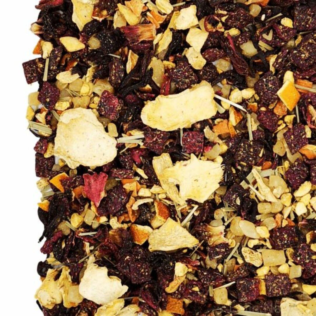 Herbatea gyömbér sárkánygyümölcs málna 50g