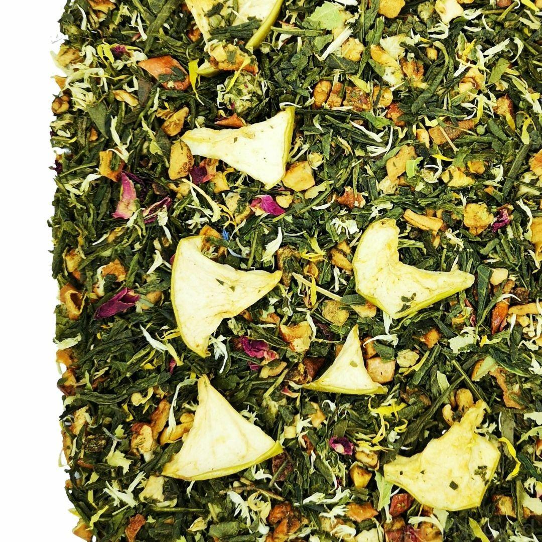 Almáskert zöld tea 50g
