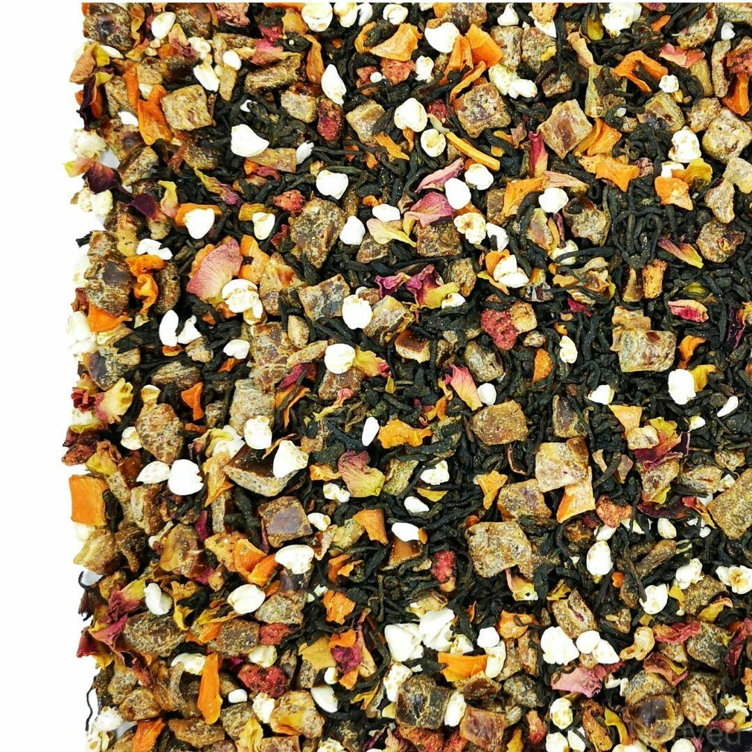 Gránátalma hajdina pu-erh tea 50g