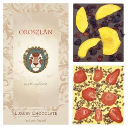 LUXURY CHOCOLATE OROSZLÁN HOROSZKÓP 130G