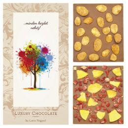 LUXURY CHOCOLATE …MINDEN KEZDET NEHÉZ! 130G