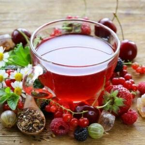 Jeges tea igazi gyümölcsteából