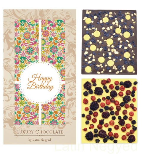 LUXURY CHOCOLATE HAPPY BIRTHDAY! 130G