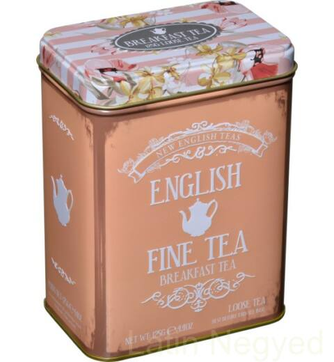EARL GREY SZÁLAS  FEKETE TEA 125G  barack-virág minta