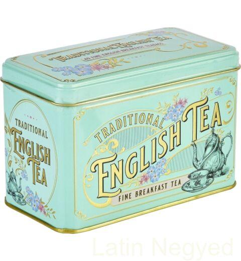 ENGLISH BREAKFAST FEKETE TEA 80G  Vintage Victorian minta
