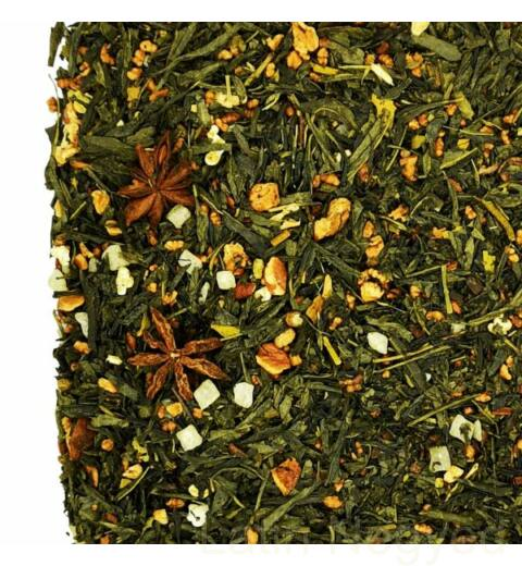 zöld tea tonkabab fahéj 50g