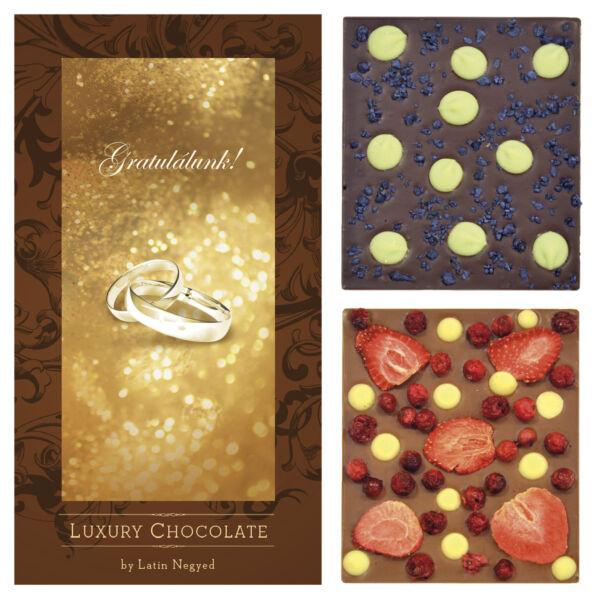 LUXURY CHOCOLATE GRATULÁLUNK! 130G