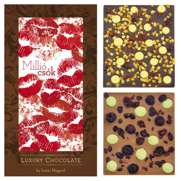 LUXURY CHOCOLATE MILLIÓ CSÓK 130G