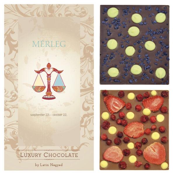 LUXURY CHOCOLATE MÉRLEG HOROSZKÓP 130G