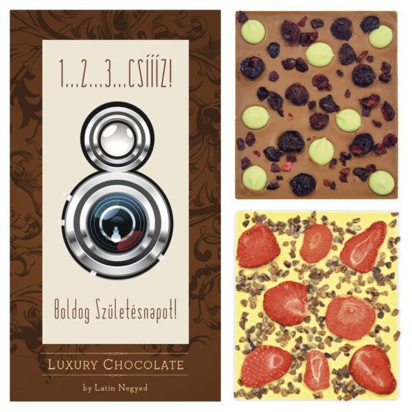 LUXURY CHOCOLATE 1…2…3…CSÍÍÍZ! 130G