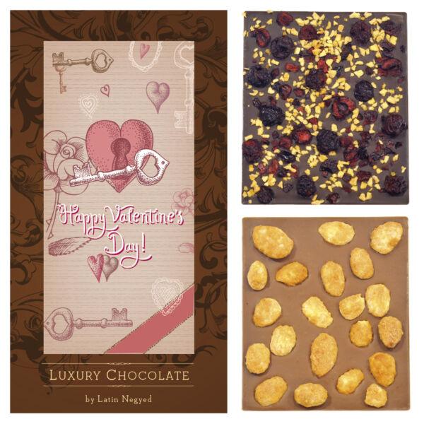 LUXURY CHOCOLATE HAPPY VALENTINE'S DAY' 130G