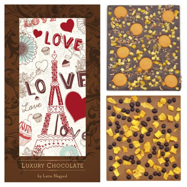 LUXURY CHOCOLATE VALENTIN LOVE LOVE 130G
