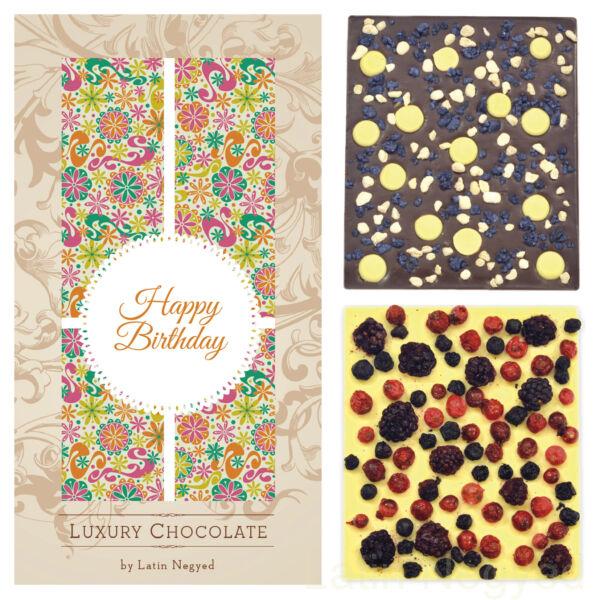 LUXURY CHOCOLATE HAPPY BIRTHDAY! 130G