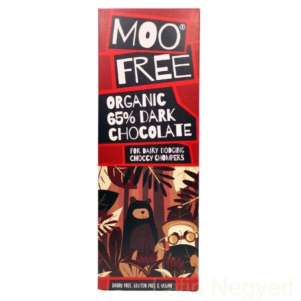Moofree 65% étcsokoládé tábla tejmentes
